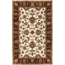 Sonal Ivory / Red Mahal Rug