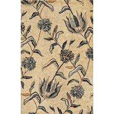 Florence Ivory/Blue Wildflowers Area Rug