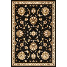 Cambridge Black Allover Mahal Rug