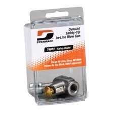 Safety-Tip In-Line  Blow Gun (In Clear Pkg.)