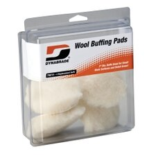 "<strong>Dynabrade</strong> 3"""" Synthetic Wool Pads (Four In Clear Pkg.)"