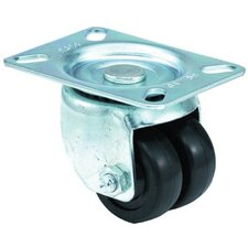<strong>E.R. Wagner</strong> Low Profile Medium Duty Casters - 2x13/16 low profile 97 plate swivel caster