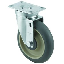 Vulcan Medium Duty Casters - 5x1-1/4 vulcan am plateswivel caster