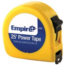 "Tape Measures - 1""x25' power measuring tape w/neon yell"