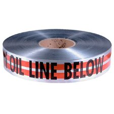 "Detectable Warning Tapes - 2""x1000' orange magnatectape w/caution o"