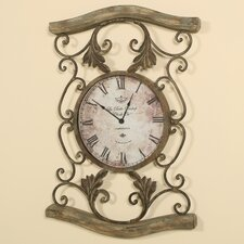 <strong>Passport Furniture</strong> Driftwood Wall Clock