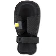 ProFlex Extra Long Cap Injected Gel Knee Pad in Black