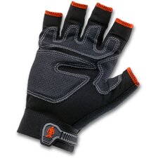 ProFlex 712 3/4-Finger Trades Gloves in Black
