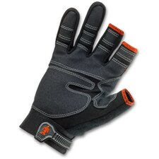 ProFlex 846 3/4-Finger Lightweight Trades Gloves in Black