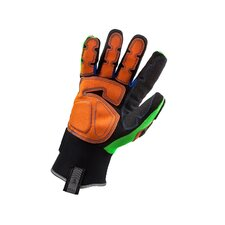 ProFlex 925F(x) Dorsal Impact-Reducing Gloves in Lime