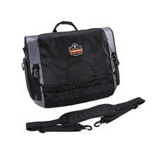 Arsenal Laptop Messenger Bag in Black