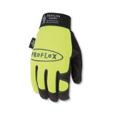 Lime Green ProFlex 812 Utility Gloves With Elastic Cuff