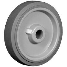 "Excel Wheels - 4""x1.25"" excel tread  poly core wheel  3/8"" i.d."