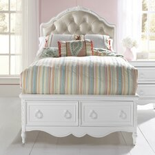 <strong>Samuel Lawrence</strong> Sweet Heart Storage Panel Bed