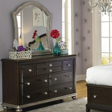 <strong>Samuel Lawrence</strong> Girls' Glam 7 Drawer Dresser