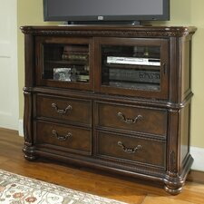 San Marino 4 Drawer Media Chest