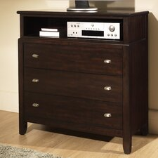 Ventura 3 Drawer Media Chest