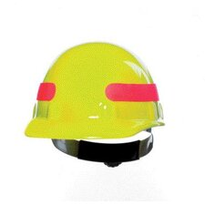 Yellow SUPEREIGHT® Class E, G or C Type I Thermoplastic Hard Hat With Full Brim And 3-R Ratchet Suspension