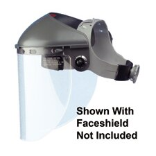 "High Performance® Faceshield With 4"" Crown Ratchet Headband"