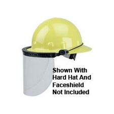 High Performance® Faceshield With Cap Peak Mount Bracket For Use With E-1 Series Protective Caps