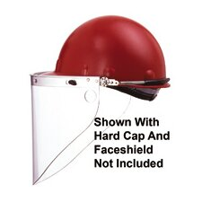 High Performance® Faceshield With Cap Peak Mount Bracket For Use With Protective Caps