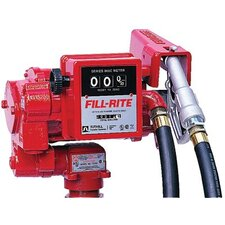 1/3 HP Utility Rotary Vane Transfer Pumps with Meter