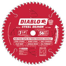"7-1/4"" 56T Diablos™ Steel Demon™ Ferrous Metal Circular Saw  D0756F"