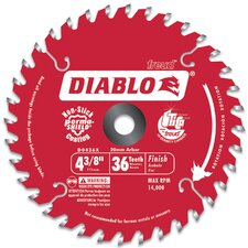 "4-3/8"" Hi-Density 36 Tooth Diablo® Cordless Trim Saw Blade  D0436X"