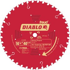 "10-1/4"" 40T Diablo™ General Purpose Beam Saw Blade  D1040W"