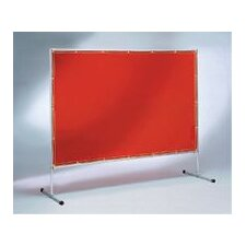 X 8' Saf-T-Vu™ Transparent Yellow Econo Welding Screen