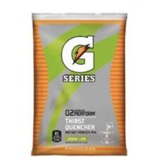 Gatorade® Instant Powder 02 Performance - 6gal lemon-lime powder drink mix 14-51oz pkg
