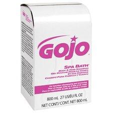 Soap & Shampoo - 800ml spa bath body & hair shampoo