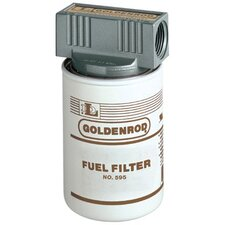 GOLDENROD® Spin On Fuel Filters - 56606 10 micron fuel filter w/top cap