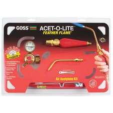 Feather Flame® Air-Acetylene Torch Outfits - go ka-1h kit