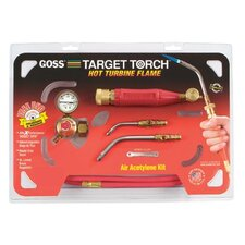 Target® Air-Acetylene Torch Outfits - acet-o-lite snap-in style acetylene kit w/ga3 and