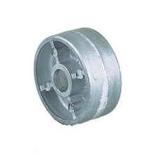 "2 1/2"" X 1 1/8"" Cast Aluminum Wheel"