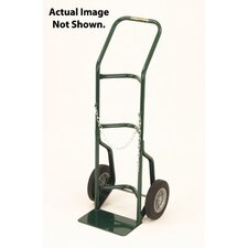 "700 Series Cylinder Hand Truck For Medium To Large Cylinders With 10"" X 3 1/2"" Pneumatic 2-Ply Tires"