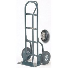 "26T Series 1000 Pound Frame Capacity Loop Handle Truck With 8"" Mold-On Balloon Rubber Wheels"