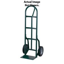 "56T Series Loop Handle Steel Hand Truck With 10"" Solid Rubber Tires"