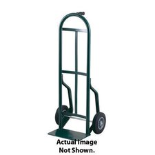 "54T Series Pin Handle Steel Hand Truck With 10"" Solid Rubber Wheels"