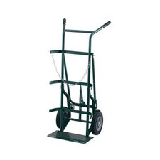 700 Series Uni-Handle Cylinder Hand Truck With Retractable Rear Casters