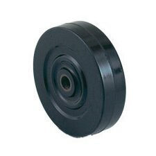 "5"" X 1 1/4"" Oilite Bearing Soft Tread Hard Core Wheel"