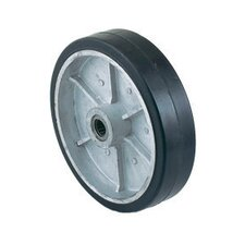 "8"" X 2"" Mold-On Rubber Wheel"