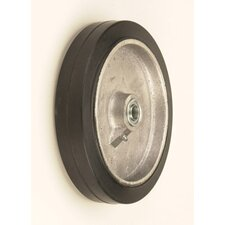 "10"" X 2"" Mold-On Rubber Wheel For Liquid Cylinders"
