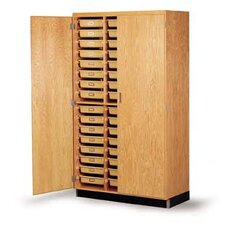 <strong>Diversified Woodcrafts</strong> Tote Tray Storage Cabinet