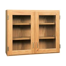 "36"" Wall Storage Cabinet with Glass Door"