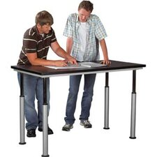 "Adaptable 60"" x 30"" Rectangular Classroom Table"