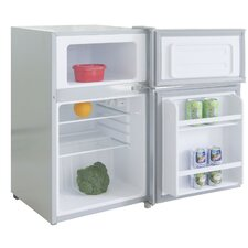 3.2 Cu. Ft. Built-In Compact Refrigerator with freezer