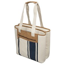 Stripe Duo Newport Dual Compartment Tote