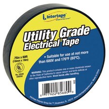 "General Purpose Vinyl Electrical Tapes - ut-602 3/4""x60' 7-mil electrical tape black-"
